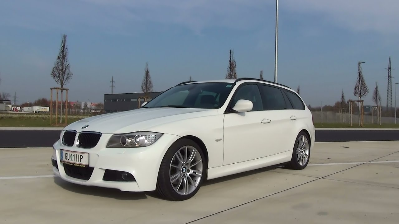 bmw 318d touring m paket youtube