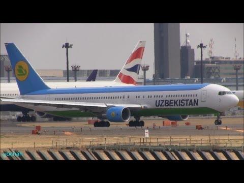 Boeing 767-300ER (B767-33P/ER) UK67003, Uzbekistan Airways (O'zbekiston Havo Yo'llari)