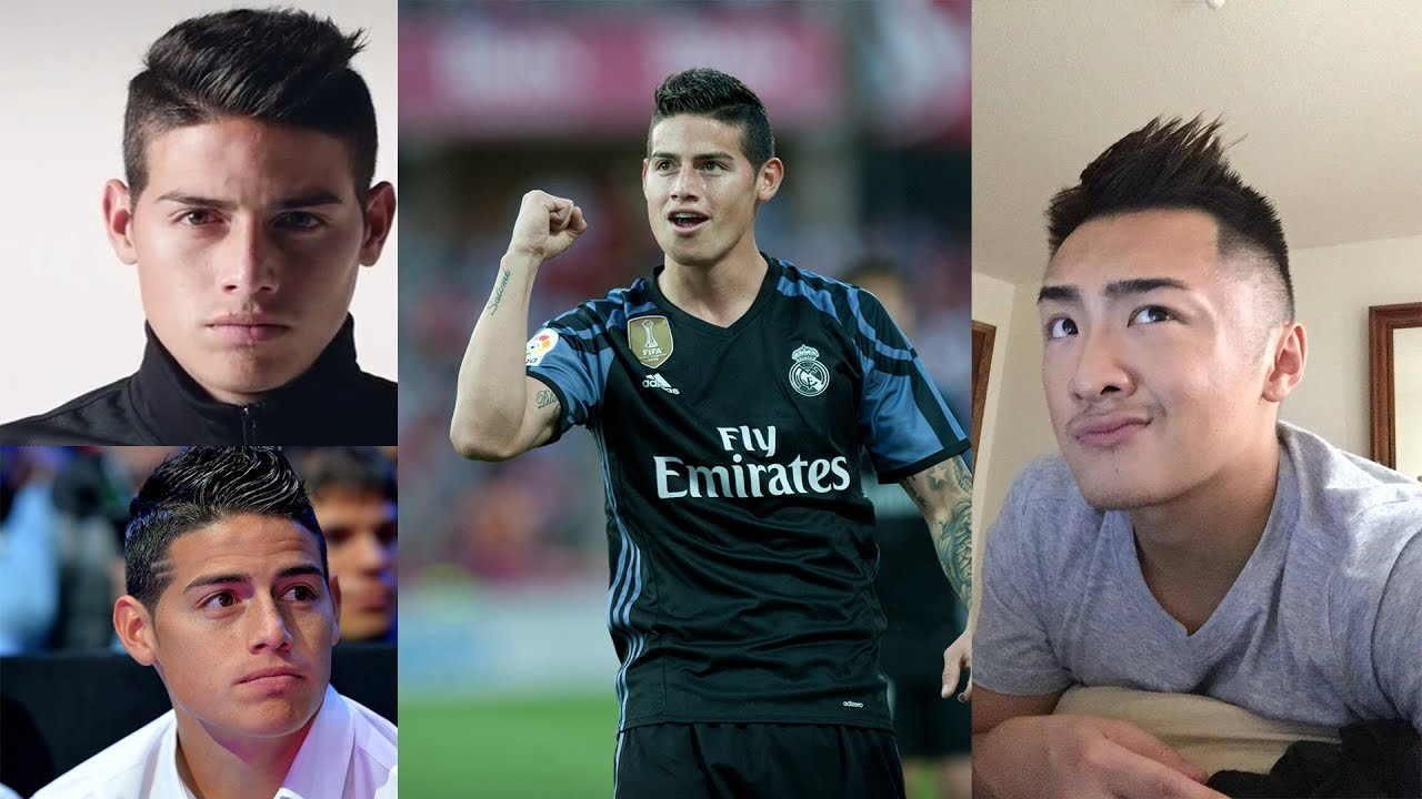 Style Your Hair Like James Rodriguez
