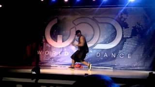 Brandon Harrell, from I Am Me,dancing at world of dance Dallas