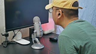 Blue Yeti 유튜브 콘덴서 마이크 오디오 인터페이…