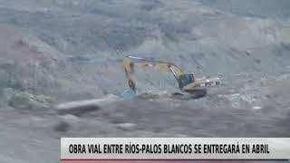 OBRA VIAL ENTRE RÍOS   PALOS BLANCOS SE ENTREGARÁ EN ABRIL