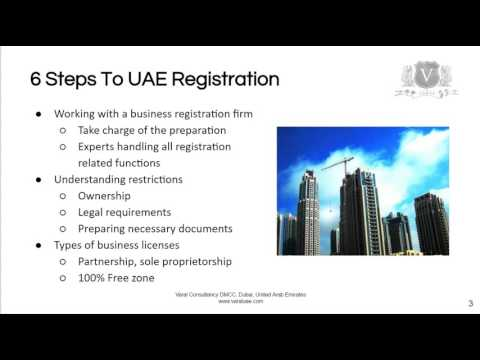 Business Setup Dubai | 6 Steps To Start A UAE Business