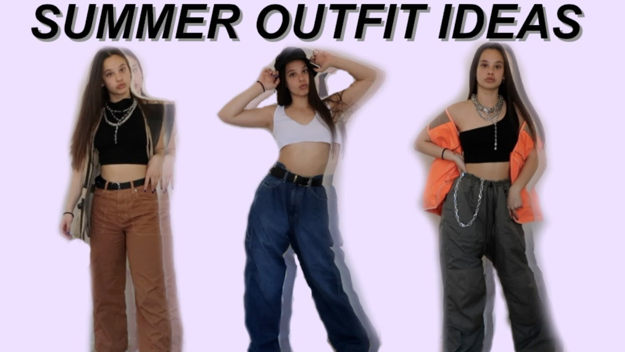 [VIDEO] - SUMMER OUTFIT IDEAS 8
