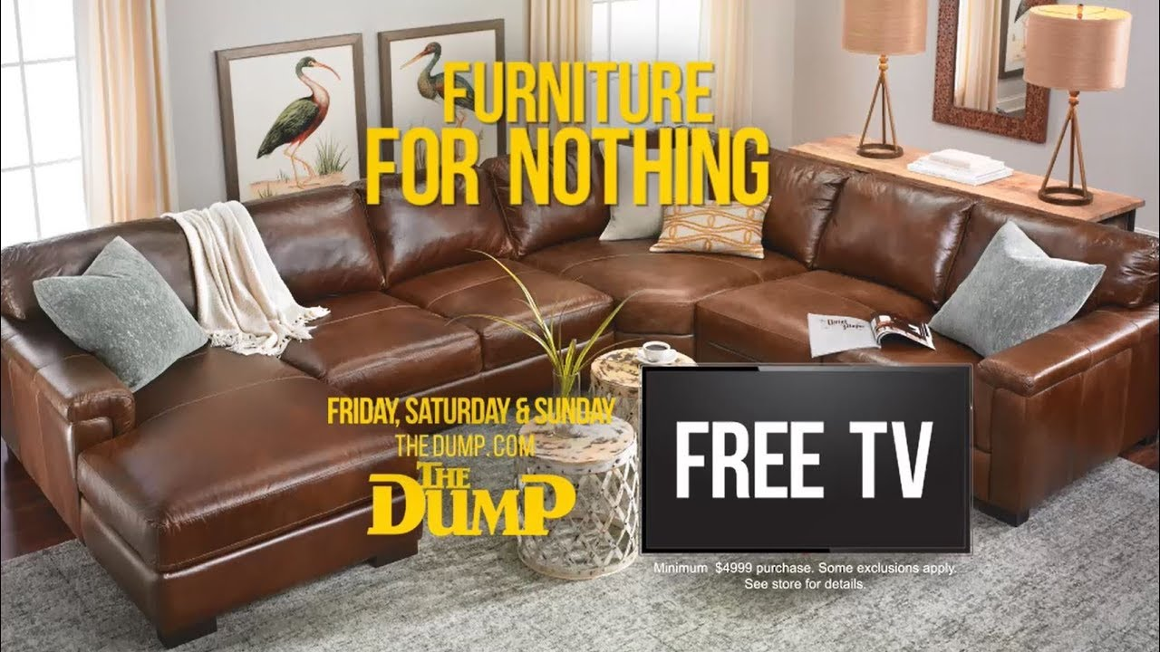 Free Tv Furniture Sale At The Dump Youtube