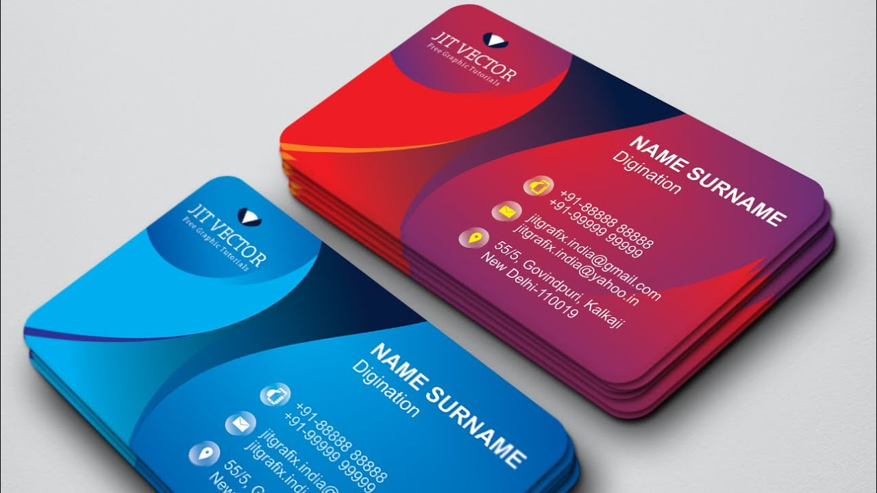 30 Professional CorelDraw Tutorials   Shop Business Card Design ...