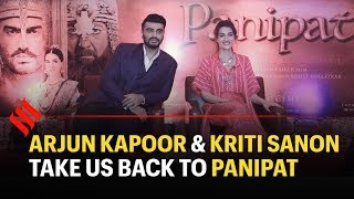 Panipat Movie Cast Interview | Arjun Kapoor | Kriti Sanon | Sanjay Dutt
