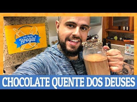 COMO FAZER UM CHOCOLATE QUENTE DOS DEUSES | Ana Maria Brogui #530