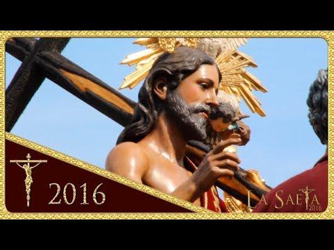 Salida del Sagrado Decreto de la Stma. Trinidad - Hdad. de la Trinidad (Semana Santa Sevilla 2016)