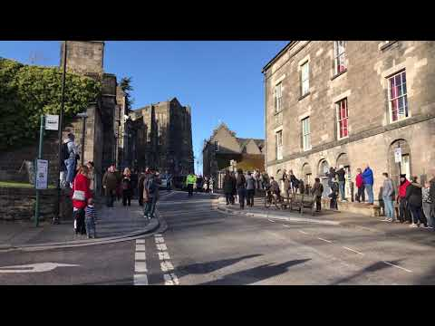 Stirling Armistice Day Parade. Remembrance Day. Poppy Day.