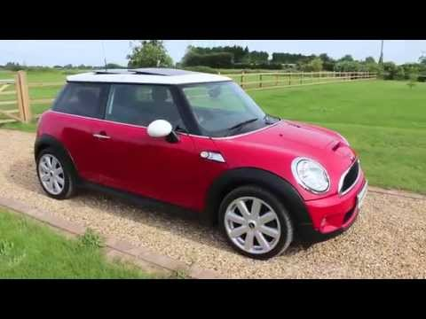2007 Mini Cooper S Red Panoramic Roof Youtube