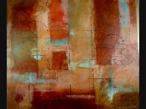 Abstract Painting Contemporary Modern Art by Filomena de Andrade Booth