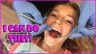 KAYLA'S TRIP TO THE DENTIST | We Are The Davises