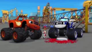 Blaze and The Monster Machines Full Episodes - Monster Machines Cartoon For Children 2016 - part 3