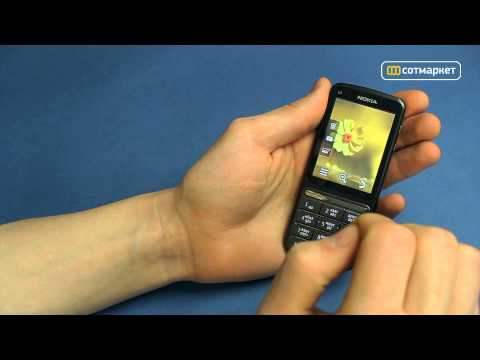 Видео обзор Nokia C3-01 Touch and Type от Сотмаркета