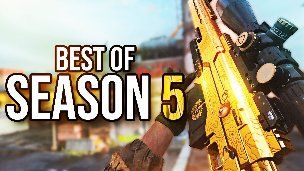 INSANE Season 5 Call Of Duty Top Plays And Moments