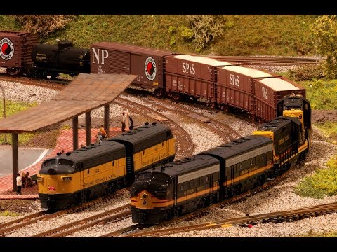 N Scale - Northern Pacific (NP) & Spokane, Portland And Seattle Railway (SP&S)