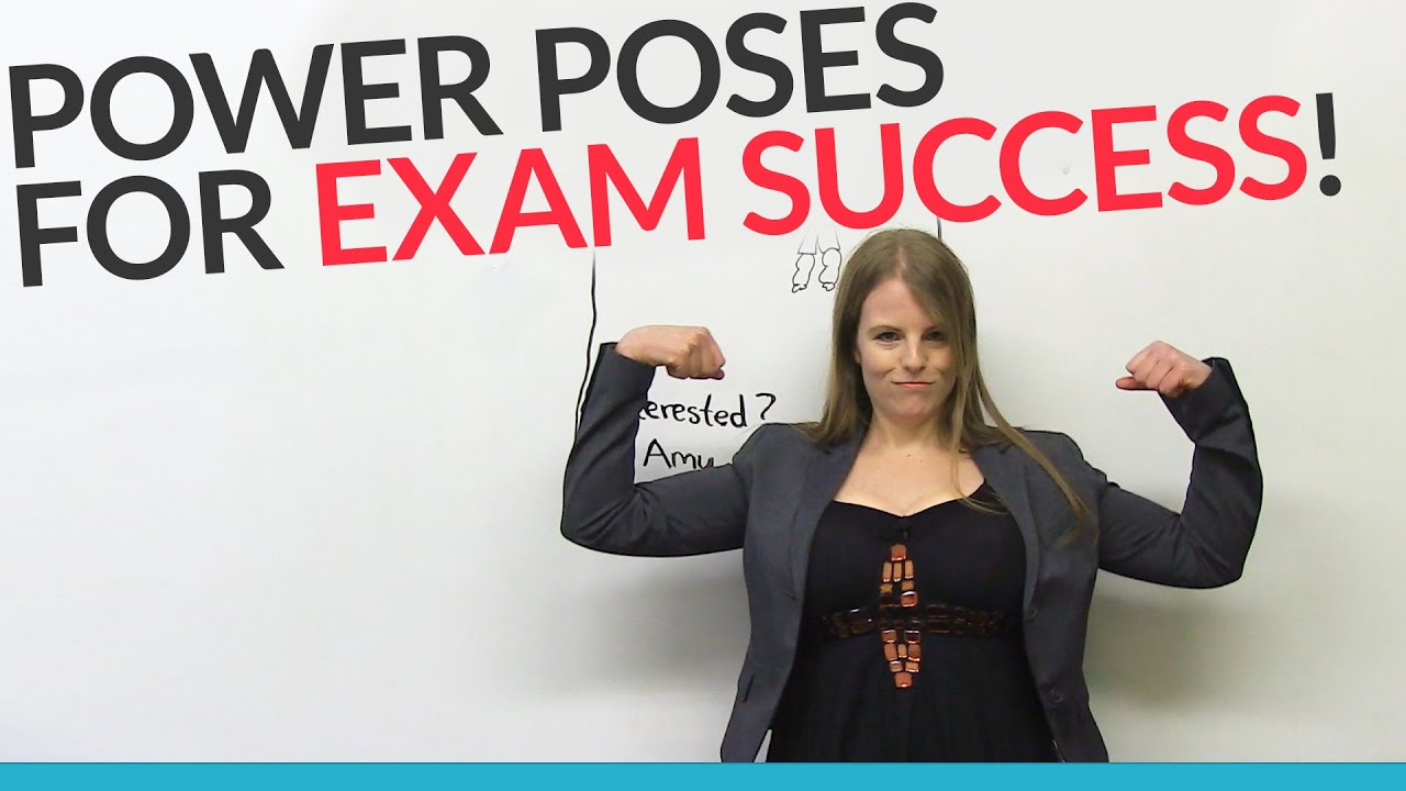 Power Poses For Exam Interview Success Youtube