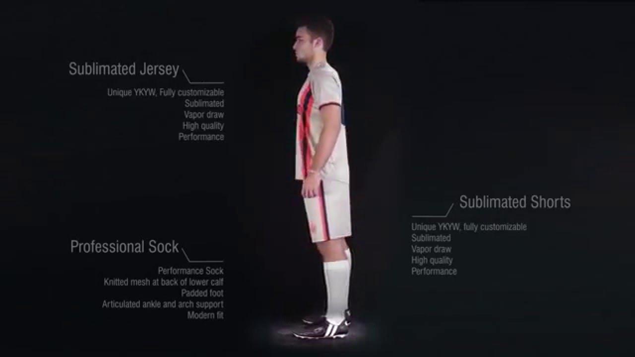 Custom soccer kit by Admiral Sports - YouTube b53376dbe
