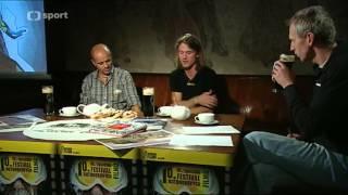 Rozhovor - ČT Sport, Minuty dobrodružství z Luční boudy, 4. 11. 2012