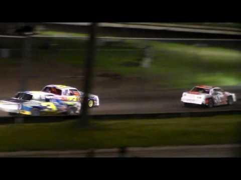 Stock Car Amain @ Iowa State Fair Speedway 06/03/16