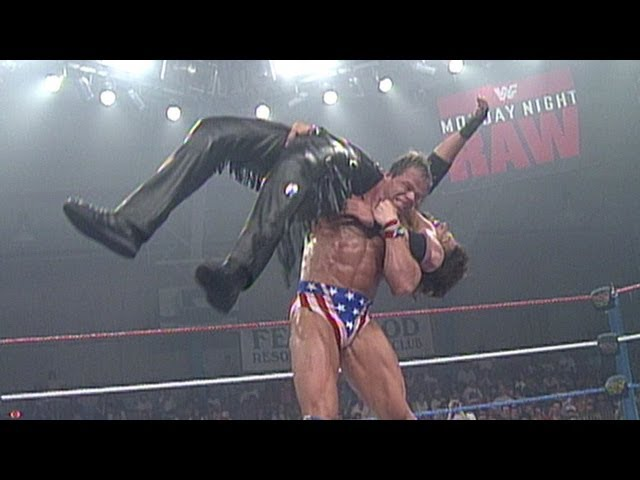 Lex Luger vs. Diesel: Raw - Intercontinental Championship,