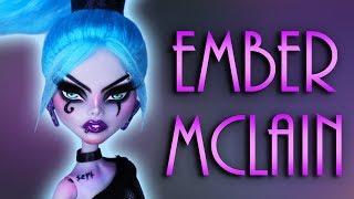 Custom Ember Mclain Doll 🎸 [ DANNY PHANTOM ART DOLL ]