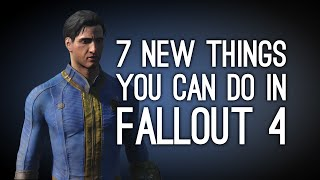 Fallout 4 7 New Things You Can Do in Fallout 4 Gameplay