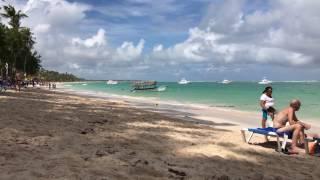 Пляж Баваро, Пунта-Кана, Доминикана ноябрь 2016