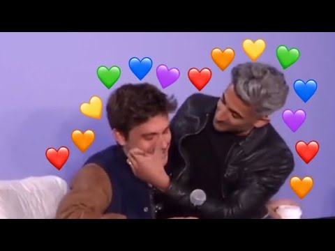 tan france and antoni porowski being cute for 4 MORE minutes straight