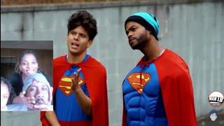 Racist Superman   Rudy Mancuso,  King Bach ; Lele pons !! REACTION VIDEO