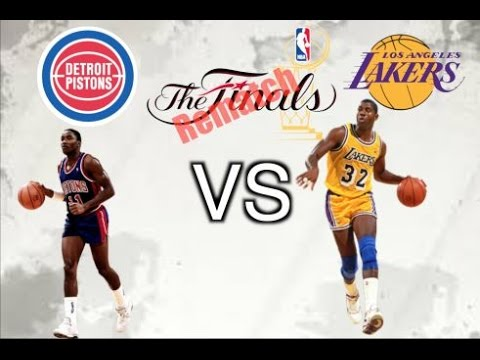 """   NBA Finals Rematch!!! Ep. 3    '86-'87 Lakers vs '88-'89 Pistons"""" - YouTube"""