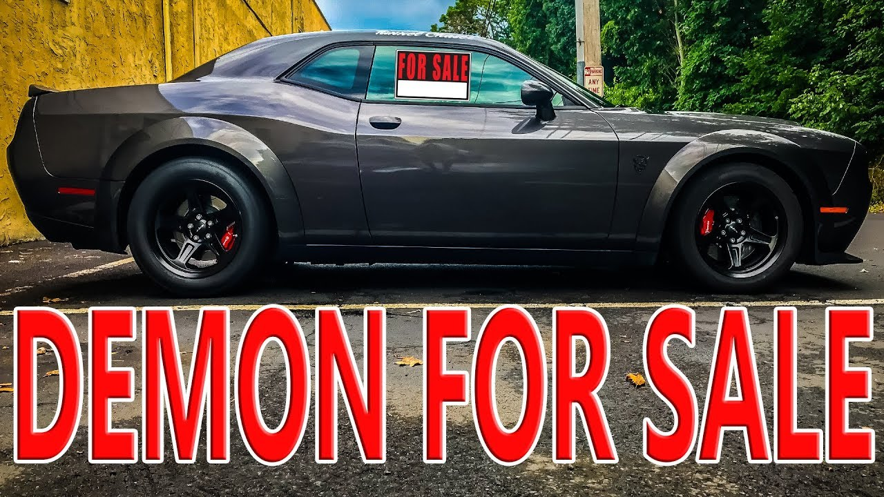 Dodge Demon FOR SALE After 6 Months Of Ownership