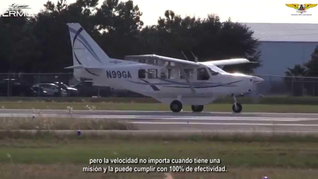 Conociendo el Mahindra Aerospace Airvan 8 en vuelo
