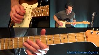 Your Love Guitar Lesson The Outfield