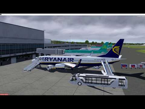 P3D v4.2 EGAC (Belfast) to EGSS (Stansted)