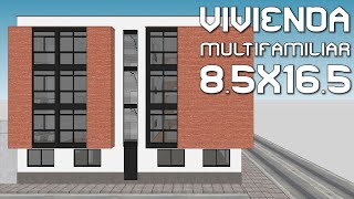 🔴MULTI-FAMILY HOUSING 8.5X16.5 - SMP 🔴