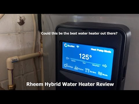 Energy Efficiency On The Farm - Rheem Hybrid Water Heater Review!