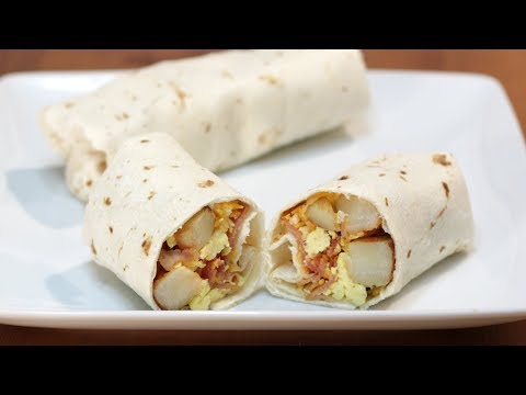How to Make a Breakfast Burrito | Easy Breakfast Burritos Recipe