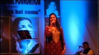 Rahe Na Rahe Hum By : Sarrika Singh Live