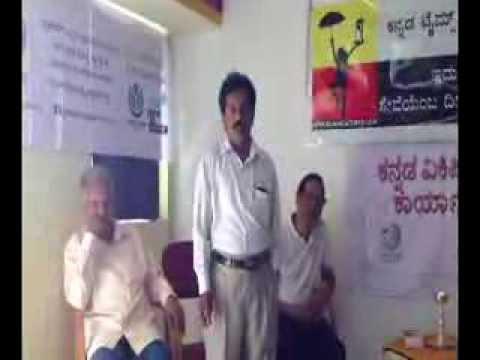 Dr.Sarfraj Chandragutti talks in KANNADA TIMES NGO