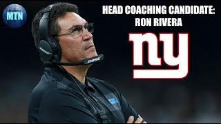 NY Giants HC Candidate: Ron Rivera