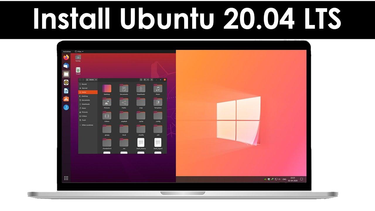 How to Dual Boot Ubuntu 20.04 LTS and Windows 10 [ 2020 ]