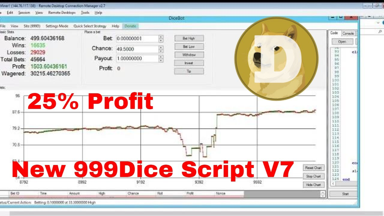 999dice max betting trick total goals scored betting online