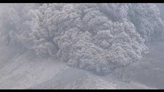 Terrifying Pyroclastic Flows Sinabung Volcano Eruption in 4K Ultra HD thumbnail