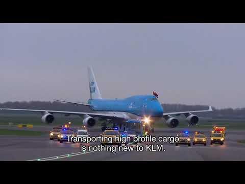 KLM Cargo vervoert Hollandse meesters naar Amsterdam
