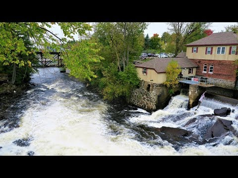 Bracebridge Falls, Muskoka, Ontario, Canada