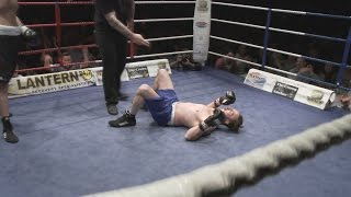 IBA Boxing - Chris Gibbs v George Sharp - First Round Knockout!