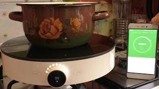 Xiaomi Induction Cooker / УМНАЯ индукционная плита СЯОМИ ► Посылка из Китая / GearBest