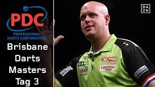 Niederländisches Duell auf dem Weg ins große Finale  | Highlights | Brisbane Darts Masters Tag 3